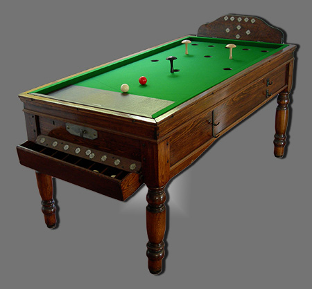 billiard den